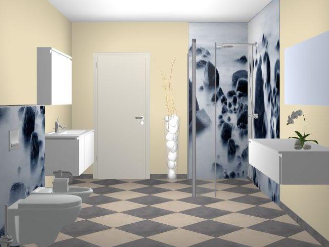 glas spiegel rahmen gmbh bedruckte glasr ckw nde. Black Bedroom Furniture Sets. Home Design Ideas